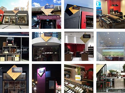 Vinho & Ponto: Conheça nossas lojas